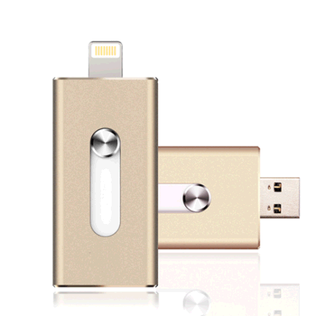 [Free Shipping] High Speed 3 in 1 iflash Drive 32GB memory stick OTG Micro 3.0 for iphone 6s Plus 5 5S ipad