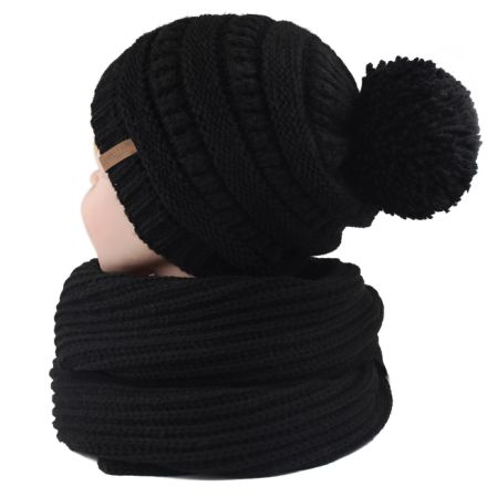 33d23b09033 Shop For Furtalk Kids Toddler Winter Hat Scarf Boys Knit Girls Yarn
