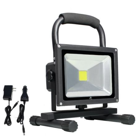 Shop for lte 20w cordless portable rechargeable outdoor led work lte 20w cordless portable rechargeable outdoor led work light 100w halogen bulb equivalent 1500 workwithnaturefo