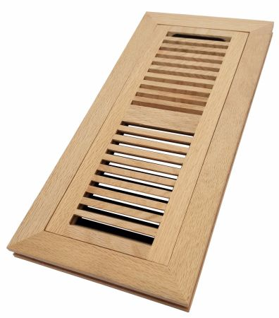 Shop For Homewell 4 Quot X 12 Quot Solid White Oak Wood Vent Cover