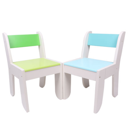 Labebe Chair For Kids  Light Blue Color For 1 To 5 Years Old Kids,