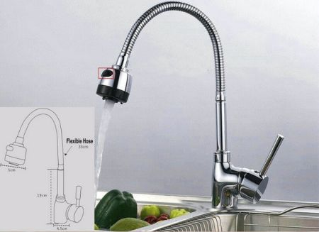 Shop For Single Handle Pull Down Sprayer Kitchen Sink Faucet With