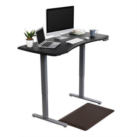 Flexispot Anti Fatigue Non Slip Comfort Kitchen Floor Mat Standing Desk Mat  Brown (