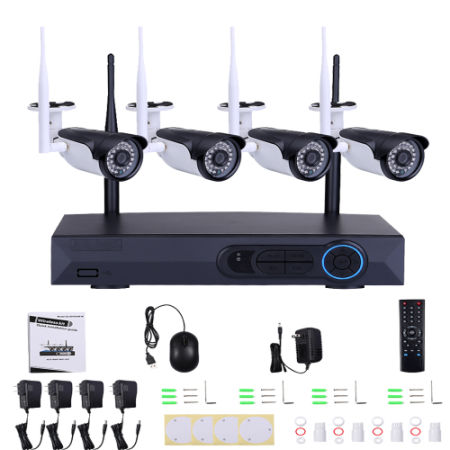Shop for 960P Wireless Wifi Video Security Network Camera System 4CH ...