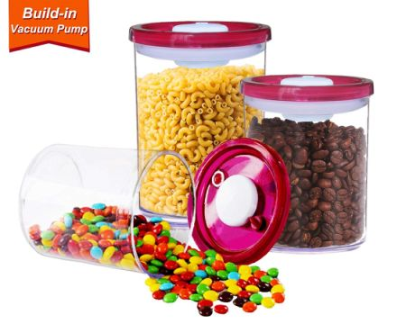 Shop for GS Vacuum Seal Food Storage Container Set 3 Piece with