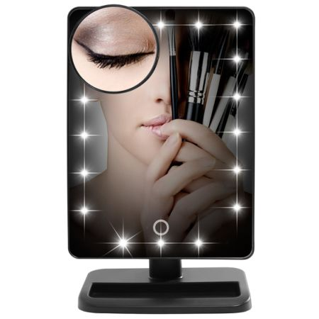shop for lifewit makeup mirror with led lights vanity mirror with removable 10x magnifying. Black Bedroom Furniture Sets. Home Design Ideas