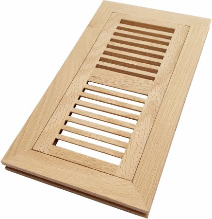 Shop For Homewell 4 X 10 Solid White Oak Wood Floor Register Vent