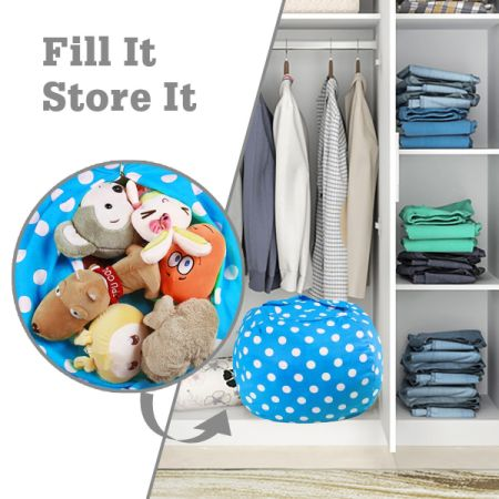 shop for ropoda kids stuffed animal storage bean bag chair 100 cotton canvas storage bag. Black Bedroom Furniture Sets. Home Design Ideas