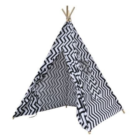 Cotton Canvas Chevron Indoor Children Play Tent Toddler Play Tent for Kids  sc 1 st  CROV.com & Shop for Cotton Canvas Chevron Indoor Children Play Tent Toddler ...
