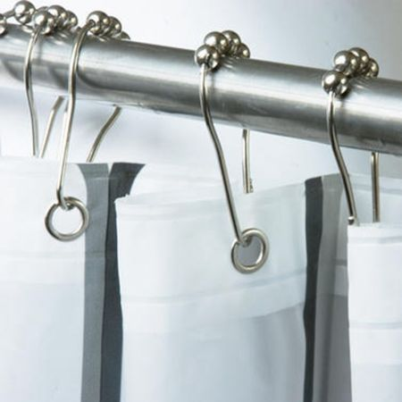Shop for 12 Pack Rustproof Stainless Steel Shower Curtain Rings ...