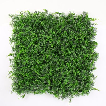 uland outdoor artificial greenery hedge wall balcony fence 15sqm high imitation privacy screen home garden - Christmas Greenery Wholesale