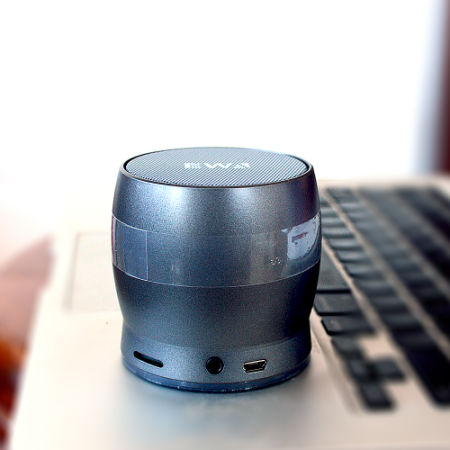 Portable Wireless Bluetooth Mini Speaker With Passive Subwoofer, Enhanced  Impactive Bass, Tiny Body Loud