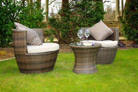 Direct Wicker 2 Piece Patio Chairs Outdoor Chire Rattan Wicker Garden Patio  Furniture