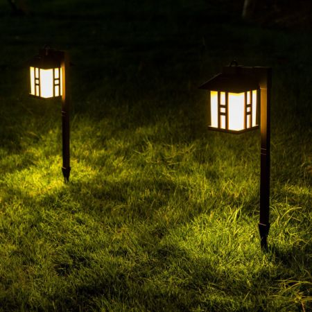 Shop for gigalumi solar powered path lights solar garden outdoor gigalumi solar powered path lights solar garden outdoor lights landscape lighting for lawn mozeypictures Image collections