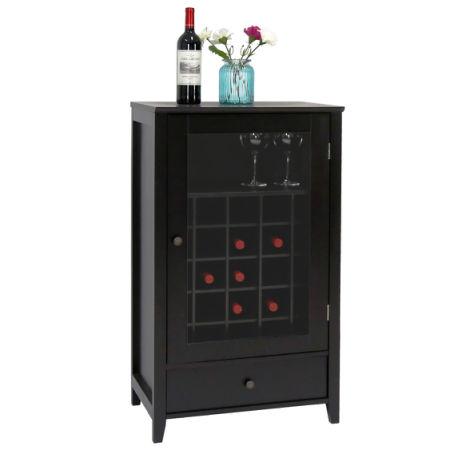 Kinbor Sideboard Cabinet Wine Storage Wine Cabinet Table Big Storage Useful Buffet Table Kitchen Furniture  sc 1 st  Crov.com & Shop for Kinbor Sideboard Cabinet Wine Storage Wine Cabinet Table ...