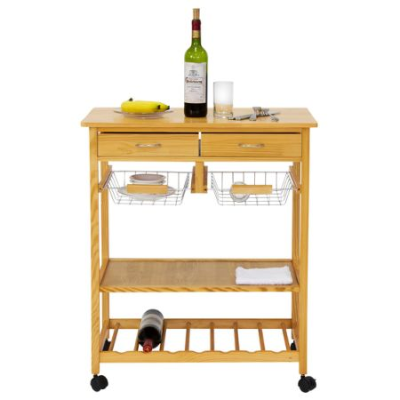 in catskill natural work craftsmen with birch htm l kitchen center drawer three drawers cart