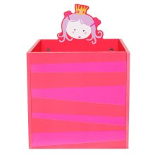[Free Shipping] Labebe Kid Furniture Toy Storage Wooden Toy Box/Chest/Organizer, Storage Basket Perfect for Toy Storage, Organizing Baby Toys, Nursery, Kids Toys, Baby Clothing, Gift Baskets - Pink