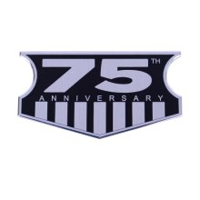 [Group Buying] Aluminum Alloy 75 Anniversary Labels for Jeep Wrangler (10 pcs/ Carton)