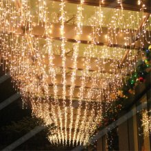 70 Tungsten Filament Lamp Window Curtain String Light for Wedding Party Home Garden Bedroom Outdoor Indoor Wall Decorations Clear Light