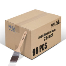 [Group Buying] WOLF Beta Pro Series, Angle Sash Trim Brush, 2.5-inch 96 Pcs/Carton