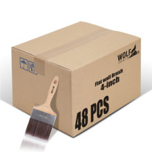[Group Buying] WOLF Beta Pro Series, Flat Wall Brush, 4-inch 48 Pcs/Carton