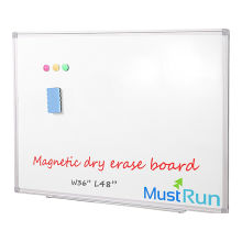 "|BIG SALE|2018BACK TO SCHOOL|HOT OFFICE PRODUCT|36""x48""Magnetic Aluminum Framed Dry Erase Board Whiteboard With Detachable Marker Tray, Wall Mounted&Suspension"