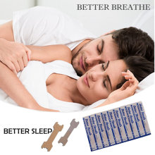 200 Pcs Better Breath Nasal Strips Anti-Snoring Snore Reducing Aids (55mm*16mm)