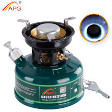APG Best Gasoline Stove for Camping With None Preheating and No Noise Oil Furnace Picnic Burners Petrol Stove Cookware for Outdoor