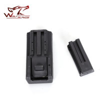 CQC Tactical Single Magazine Pouch Case Wide Open Top Military Waist Belt Pistol Clip Box Airsoft Hunting Accessories