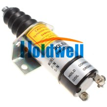 Stop Solenoid 1500-2134 1502-12C6G1B1 For Woodward Engine Solenoid Coil