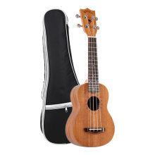 Aileen WINZZ Plywood Soprano Hawaii Ukulele with Bag, Tuner, Strap, Picks, Extra Strings (21 Inches, Natural)