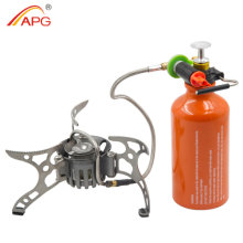 APG Camping Stove Portable Backpacking Multi Fuel Outdoor Picnic Gasoline Burners
