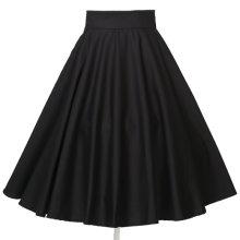 b94fc77933e76e 50s 60s Clothing Women's Classic Vintage Plus Size Swing Dance Circle Skirt  SK4072-M