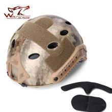Hot! Emerson Fast Capacete Airsoft Helmet PJ Type and With Protective Goggle Helmets Military Airsoft Helmet Free Shipping