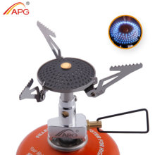 APG Outdoor Camping Propane Stove Gas Burner Mini Anti-Scald Portable Gas Cooker