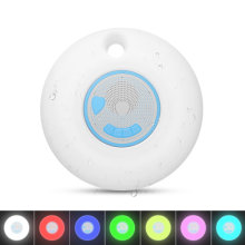 CYBORIS Waterproof Bluetooth Speaker, Portable Wireless IPX7 Waterproof Floating Bluetooth 5.0 Speakers with TWS Function 7 Colors Auto-Changing RGB LED Themes for Swimming Pool Party,Beach,Travel