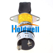 2 Terminals 1500-2016 Holdwell Solenoid 1502-12C6U1B1 SA-3756 12V 1502 for Woodward (Synchro-Start