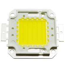 LED COB Chip, 100W, 40mm, White Light (6000K)