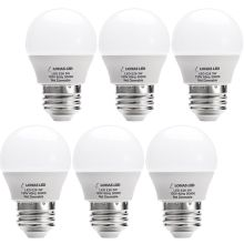 G14 LED Bulb, E26 Base, 3W (25 Watt Equivalent), Daylight White 5000k, LED Light for Home Lighting