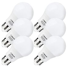 A19 LED Bulb, E26, 9W (60 Watt Equivalent), 5000K Daylight White, 240 Degree Beam Angle
