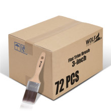 [Group Buying] WOLF Beta Pro Series, Flat Trim Brush, 3-inch 72 Pcs/Carton