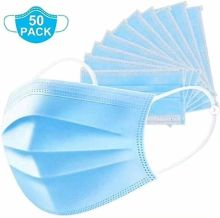 [GROUP BUYING]3- Layer Disposall Mask 99% Filter Efficiency Protect from Virus-Shipping Date After April 13