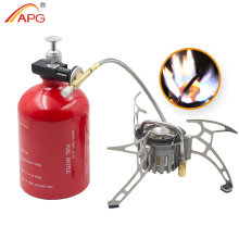 APG Portable Outdoor Camping Stove Picnic Gasoline Oil Gas Multi Fuel Stoves Backpacking Burners
