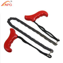APG Survival Pocket Chain Saw Portable Steel Gear Hand Tool Emergency Chainsaw