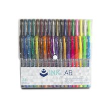 [Group Buying] InkLab Coloring Gel Pens, Medium Point, Assorted Colors, 36-count