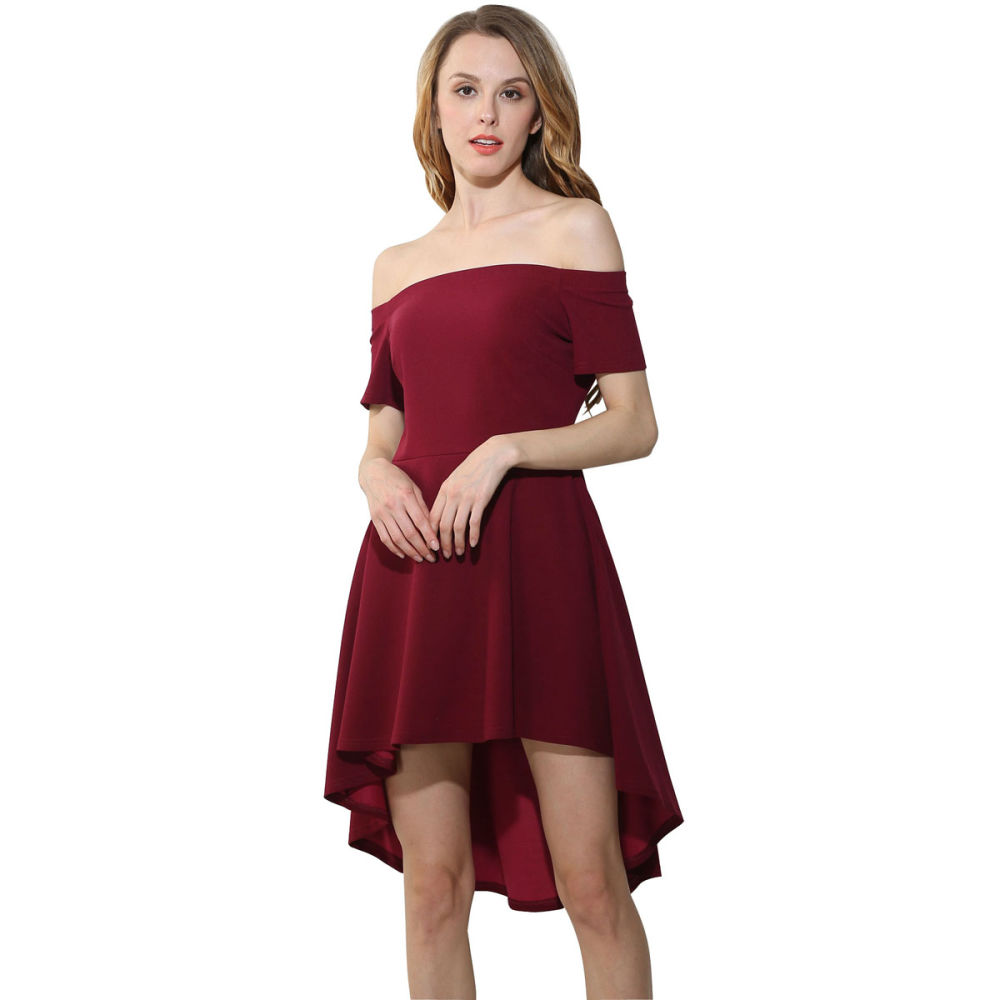 Shop for unionfashionli womens off shoulder short sleeve loose shop for unionfashionli womens off shoulder short sleeve loose cocktail party casual red dress at the competitive price on crov ombrellifo Choice Image