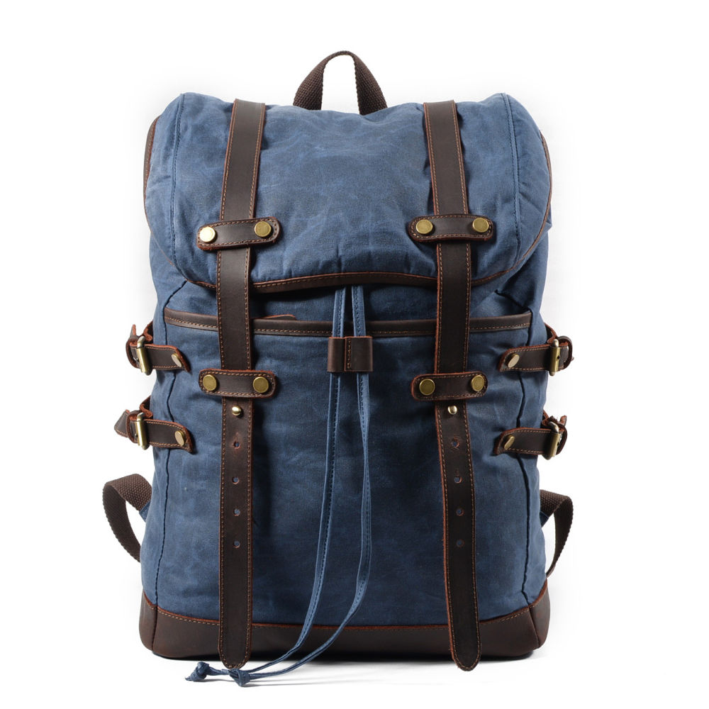 Waterproof Canvas Travel Backpack- Fenix Toulouse Handball 0b405af97b3eb