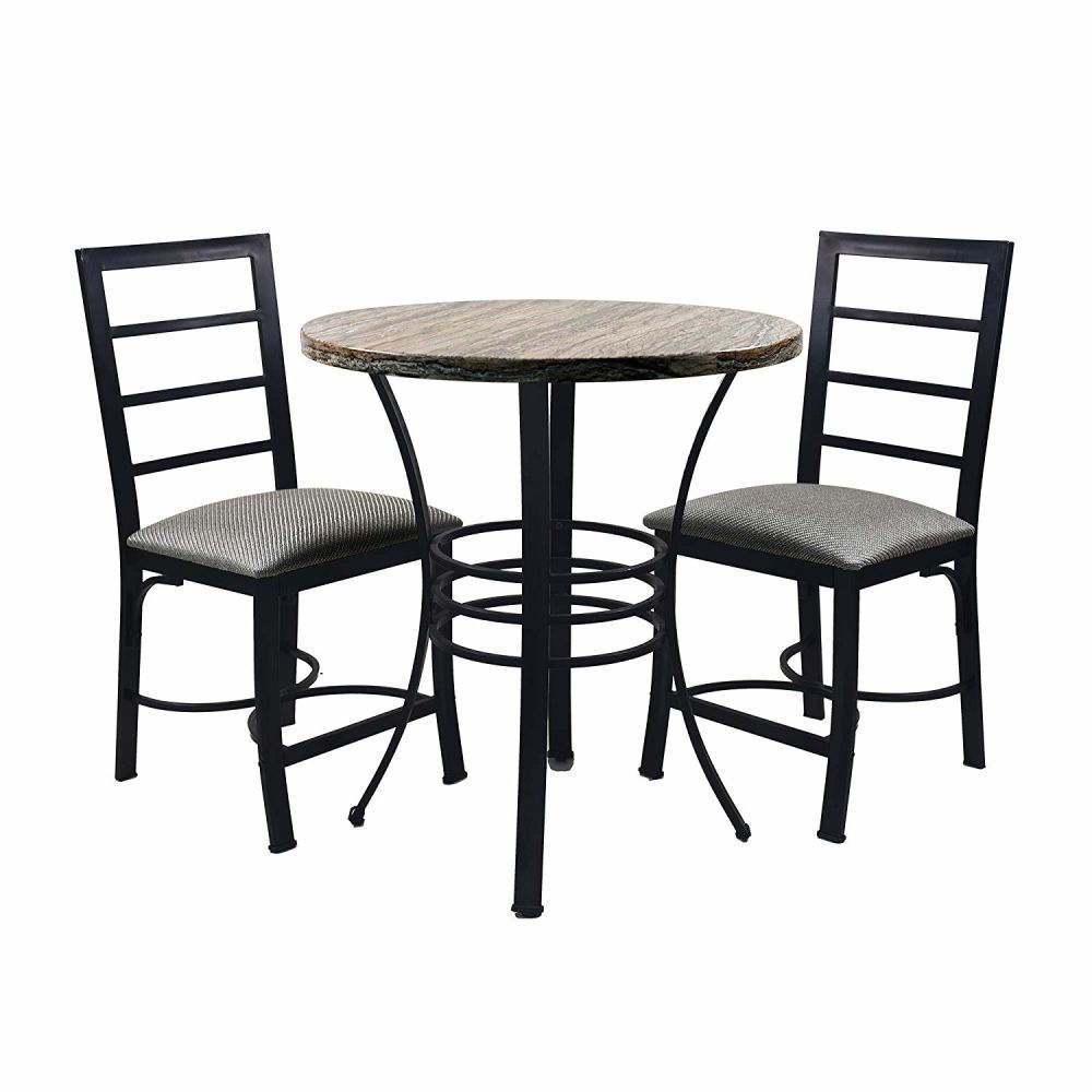 Shop for Circlelink 3 Piece Bistro Kitchen Dining Table and ...