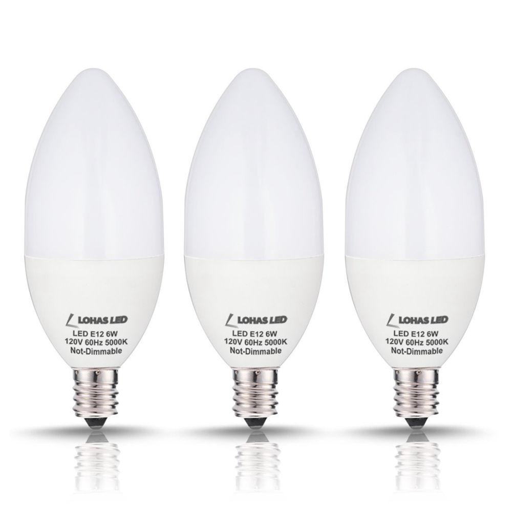 Shop for Candelabra LED Bulb, E12, 6W (60 Watt Equivalent), Daylight ...