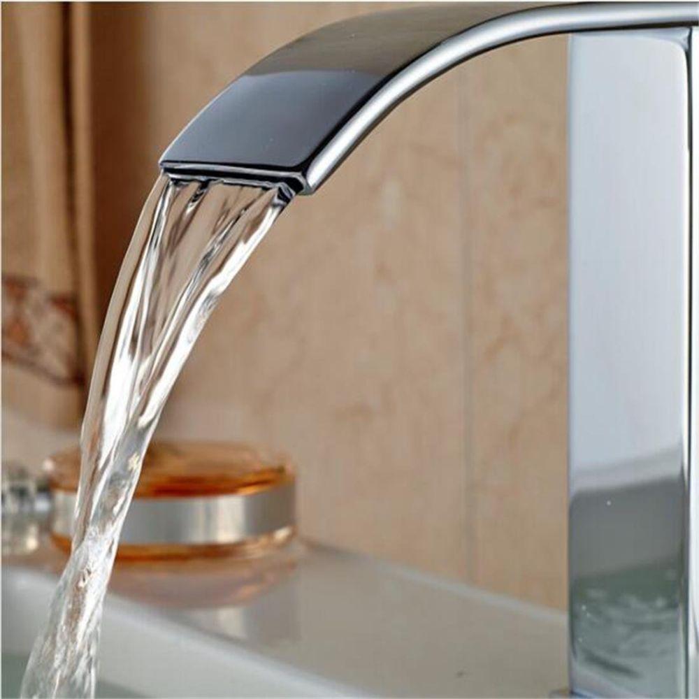 Shop for Gimili Bathroom Tap Sink Basin Mixer Taps Faucet Waterfall ...